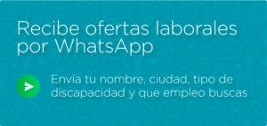 Imagen de recibir ofertas laborales por WhatsApp